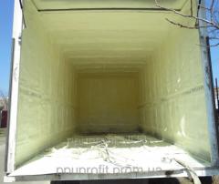 Теплоизоляция и гидроизоляция железнодорожных вагонов