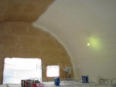 Heat insulation by polyurethane foam of vegetable