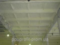 Теплоизоляция пенополиуретаном овощехранилищ, холодильных и морозильных камер