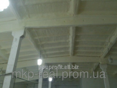Thermal insulation dusting. PPU rigid polyurethane