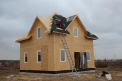 Дома каркасные деревянные (технологии ЭКОПАН) Киев