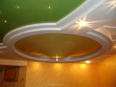 Glossy stretch ceilings Kherson
