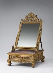 Carved frames for mirrors.