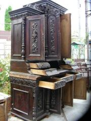 Semi-antique furniture, carving, antiques,