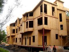 Таунхаус. Каркасно-панельное домостроение