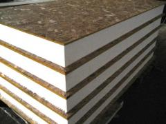 VULTURES panels, sandwich panel. Materials for