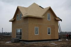Дом. Здания панельные быстровозводимые