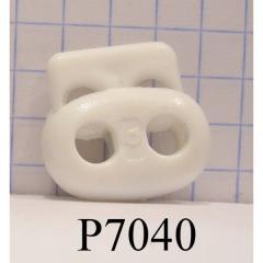 Фиксатор на шнур пиг маленький пластиковый 2
