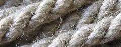 Rope lno-hempen 10 mm (bay 100m). decorative