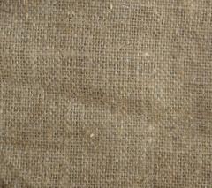 Sacking of linen 400 g / kv.m (width - 1 m). No.