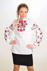 "Vyshivanka female ""Charivni poppies"