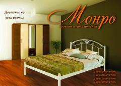Металлическая кровать Монро, односпальная или