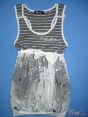 Fashionable stylish sundress for the girl of