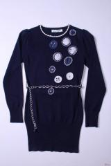 Beautiful tunic with a belt for the girl