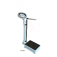 Scales for weighing of people with the RGZ-120 height meter