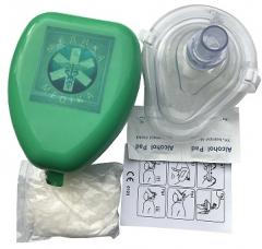 Contactless mask of the Physician for an artificial respiration with accessories