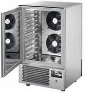 Chamber of fast cooling and freezing for 7x GN 1/1