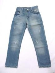 Armani Junior jeans for the boy blue the Product