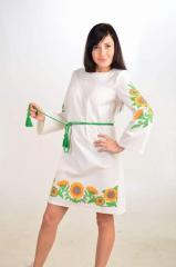 "Dress embroidered ""Sonyakhi"" for"