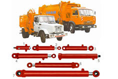 Hydraulic cylinders for cars on export of KO-413,