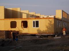 Построить дом. Дома каркасные деревянные