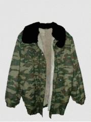 Jacket wadded (military model)