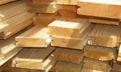 Floor board pine