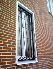 Защитные решетки на окна Херсон