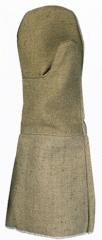 Краги для сварщиков брезентовые для защиты от повышенных температур, искр и брызг расплавленного металла