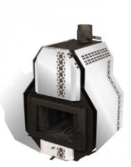Печь отопительно-варочная  SVAROG-M, Сварог-М  тип 02, мощность 22 кВт, на 460м3