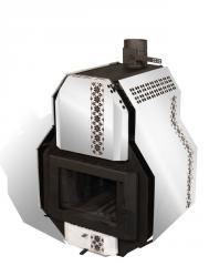 Печь отопительно-варочная  SVAROG-M, Сварог-М  тип 01, мощность 14 кВт, на 260м3