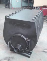 Печь отопительно-варочная BULER (Булер) тип 04, мощность 35кВт, на помещение до 1000м3.