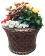 Цветочные вазы из бетона
