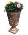 Street vase from concrete Chernivtsi Ukraine