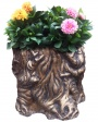 Decorative floor vases from concrete Chernivtsi