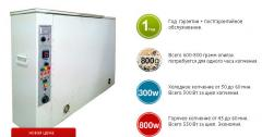 Drying cabinets from 100 to 1000 kg.