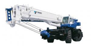 He off-road TADANO GR500EX crane loading capacity