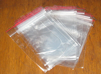 Zip-lock packages (ziplok)