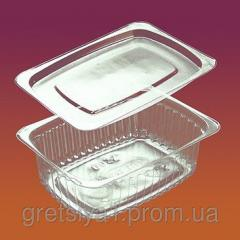 The container food with a cover 2200 (220 ml.)