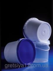 Plastic buckets for foodstuff of 5,5 l Odessa