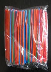 Tubules for cocktails of 200 pieces.