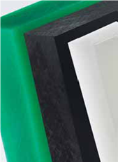 Sheets plastic 6 mm from high-molecular