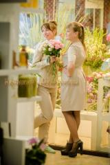 Uniform for florists, sellers of flower shops,