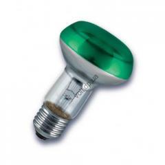 Рефлекторная лампа Philips 40 Вт зелёная 651