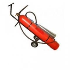 Fire extinguisher carbon dioxide mobile OU-40