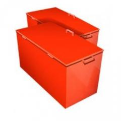 Box for sand stationary