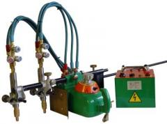 The figurative machine for gas-oxygen cutting the
