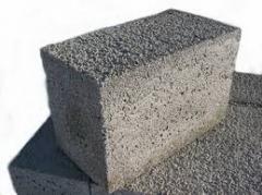 Concrete easy, concrete on porous fillers