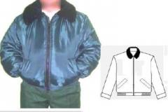 Jacket the working winter Pilot with double layer