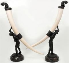 Bronze sculpture Ivory Coas